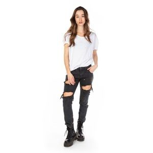 One Teaspoon Fox Black Freebirds Skinny Jeans NWT